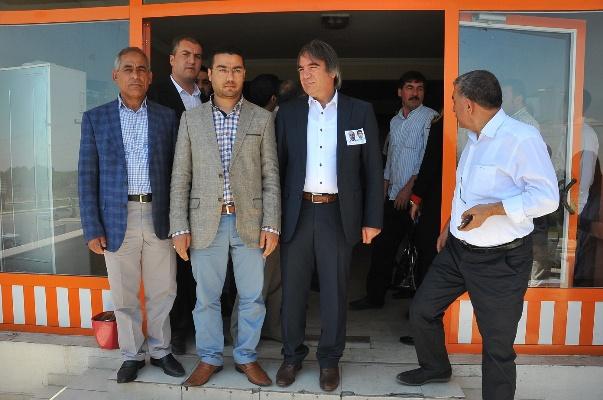 Mazhar Bağlı Eyyübiye İlçe Başkanlığını Ziyaret Etti