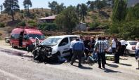 Kahramanmaraş'ta zincirleme kaza: 1 ölü 6 yaralı
