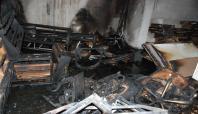 Kepenk kapatmayan esnafın işyerini yaktılar