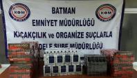 Batman'da 75 bin TL değerinde kaçak sigara ele geçirildi