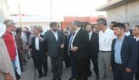 AK Parti heyeti Kızıltepe'de ziyaretlerde bulundu