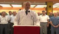 Malatyalı doktorlar Biroğlu için basın açıklaması yaptı