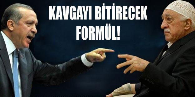 İşte AK Parti-Gülen savaşını bitirecek formül