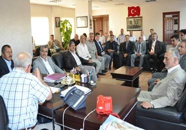 AK Partiden Odalar Birliğine teşekkür ziyaretti