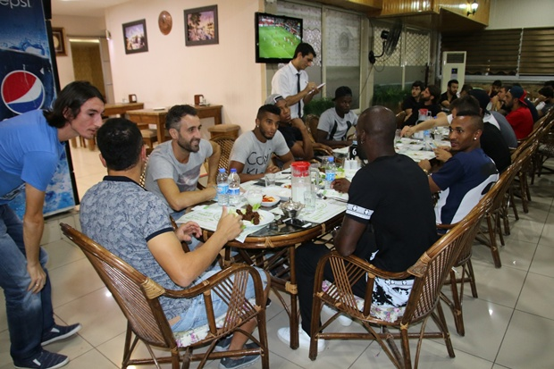 Şanlıurfaspor Samsunspor maçı hazırlıkları