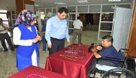 Kahramanmaraş'ta engelli kursiyerlere sertifikaları verildi