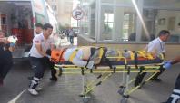 Kâhta'da trafik kazası: 1 ölü 4 yaralı