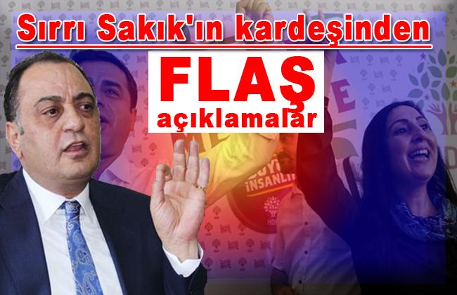 Namık Sakık: 'HDP Kürtleri temsil etmiyor'