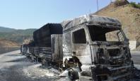 Araçların yakılması şoförleri tedirgin ediyor