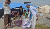 İHH'dan Suriyeli ailelere yardım