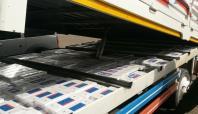 Bingöl'de 13 bin 500 paket kaçak sigara ele geçirildi