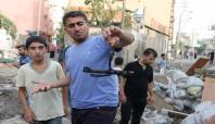 Cizre'de yasağın ardından halk sokağa çıktı