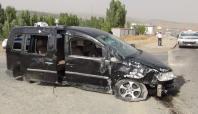 Bingöl'deki kazalarda 8 kişi yaralandı