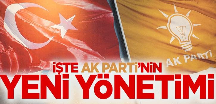 AK Parti yeni MYK belirlendi