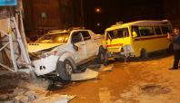 Van'da feci kaza: 7 yaralı