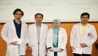 ÇÜ'de 268 doktor adayı beyaz önlük giydi
