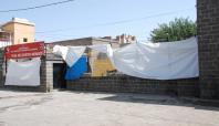 Sokağa çıkma yasağının ardından Sur ilçesi