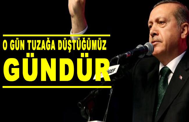 Erdoğan, Twitter üzerinden takipçileriyle paylaştı