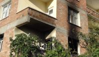 Silvan'da bir ev ateşe verildi