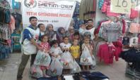 Avrupa Yetim-Der'den Siirt'te yetimlere bayram yardımı