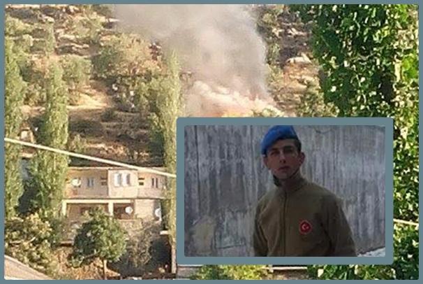 Şırnak Beytüşşebap'ta çatışma 2 asker hayatını kaybetti