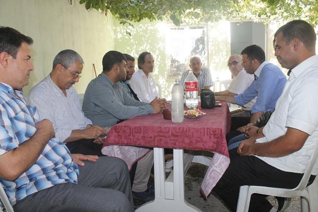 Şanlıurfa'da görev yapan gazeteciler bayramlaştı