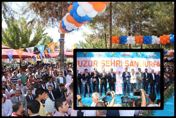 AK Parti hem bayramlaştı hem adaylarını tanıttı
