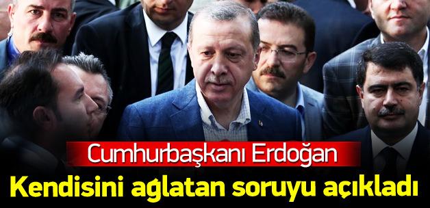 Erdoğan Okul Açılışında Konuştu