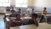 Suriyeli öğrenciler dersbaşı yaptı