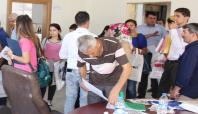 Silopi'ye atanan öğretmenler otogarda karşılandı