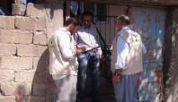 İHO Ebrar Ergani'de Muhtaçlara Kurban eti dağıttı