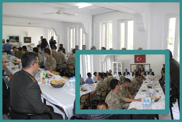 Harran SHM Gazileri yemekte buluşturdu