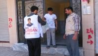 İHO EBRAR Siverek'te kurban eti dağıttı