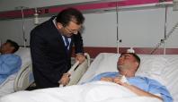 Bakan Altınok yaralı askerleri ziyaret etti