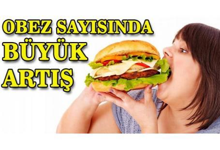 Türkiye'de obez oranı yüzde 19,9'a yükseldi