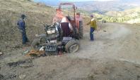 Bingöl'de traktör kazası: 1 ölü, 1 yaralı