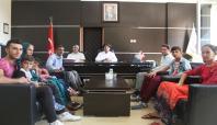 Derikli Ayhan ailesinden Baştabibe teşekkür ziyareti