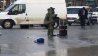 Kaymakamın aracına bomba yerleştirildi