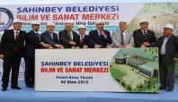 Gaziantep'te Bilim ve Sanat Okulu temeli atıldı