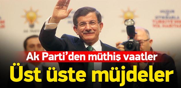 AK Parti Seçim Beyannamesi'ni görmek için Tıklayın