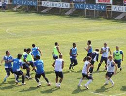 Fenerbahçe idmanında gol yağmuru