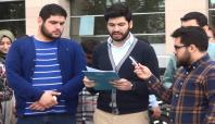 Yasin Börü için Çağlayan Adliyesi'nde basın açıklaması