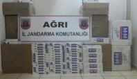 Ağrı'da 31 bin paket kaçak sigara ele geçirildi