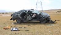 Karlıova'da kaza bir yaralı