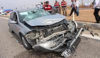 Kâhta'da trafik kazası: 4 yaralı