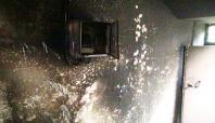 Çınar'da bir evde çıkan yangın paniğe neden oldu