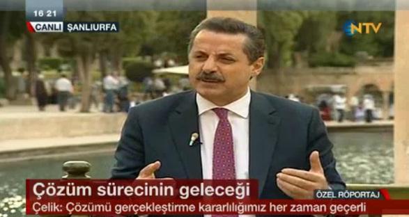 Çelik, Balıklıgöl'de NTV'ye konuştu VİDEO