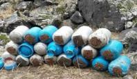 Ağrı Dağı'nda 2 ton patlayıcı imha edildi