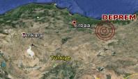 Tokat'ta 4,9 büyüklüğünde deprem