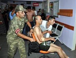 Mardinde patlama: 6 asker yaralı